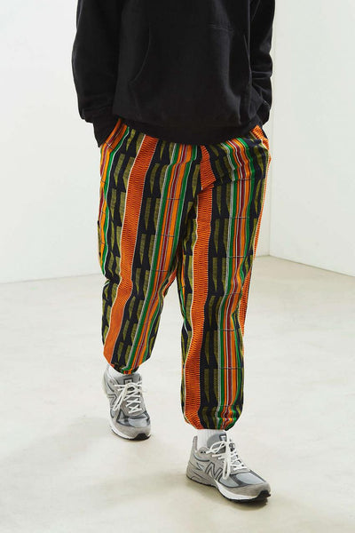 Kente Racer Trousers