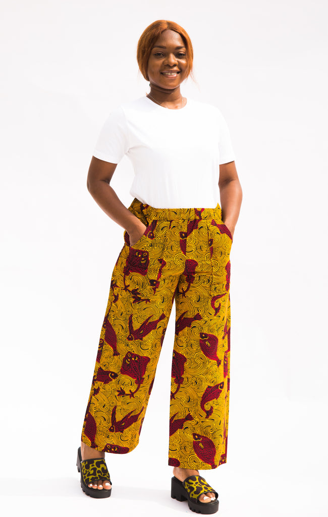 Snapper Wide Leg Pants