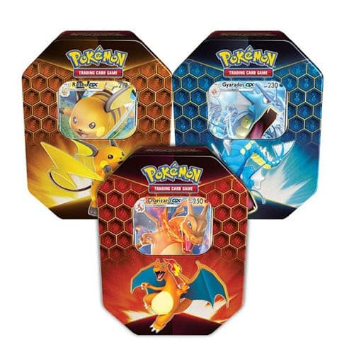 Pokemon Hidden Fates Tin bundel - volledige collectie