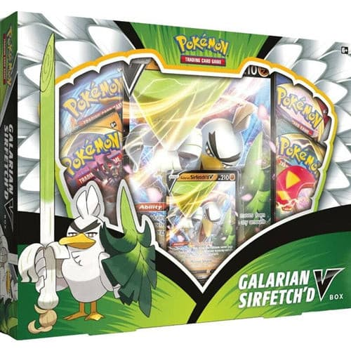 Pokemon - Sword & Shield Champions Path Galarian Sirfetchd V Box