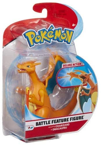 Pokemon - 4.5 Inch Battle Feature Figure - Charizard
