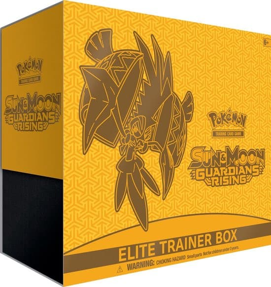 Pokemon Sun & Moon: Guardians Rising Elite Trainer Box