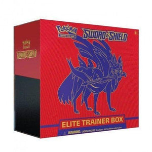 Pokemon Sword & Shield Elite - Trainer Box Zacian