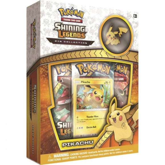 Shining Legends Pin collection Pikachu
