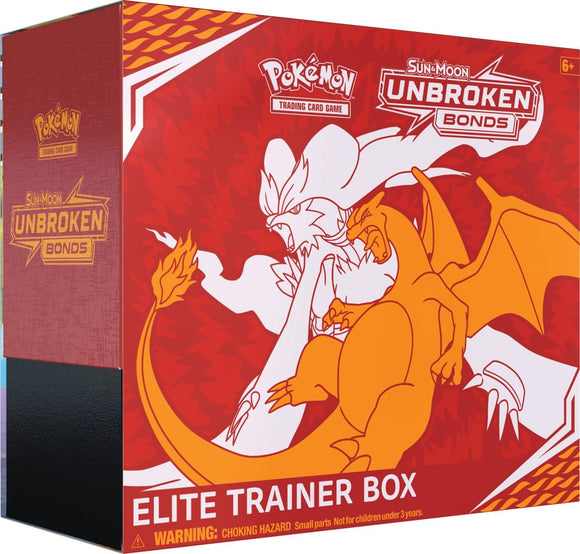 Pokémon Sun & Moon Unbroken Bond Trainer Box - Pokémon Kaarten