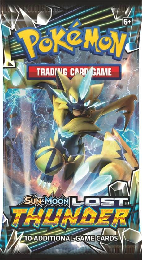 Pokemon booster SM8 Sun & Moon Lost Thunder Booster