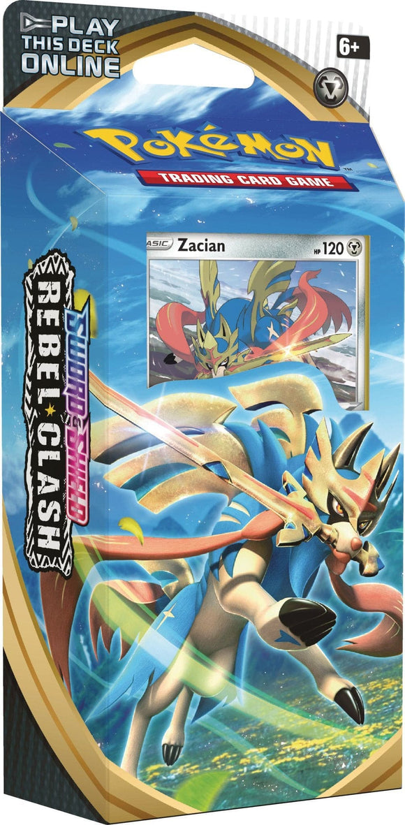 Pokemon - Sword & Shield Rebel Clash Zacian - Theme Deck