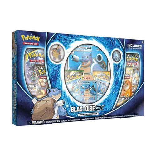 Pokemon TCG Blastoise GX Premium Collection