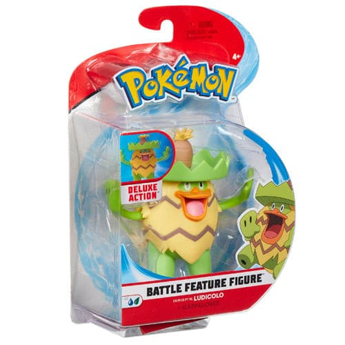Pokemon - 4.5 Inch Battle Feature Figure - Ludicolo
