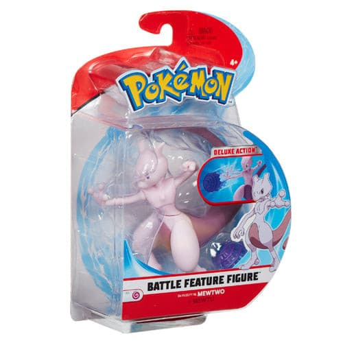Pokemon - 4.5 Inch Battle Feature Figure - Mewtwo