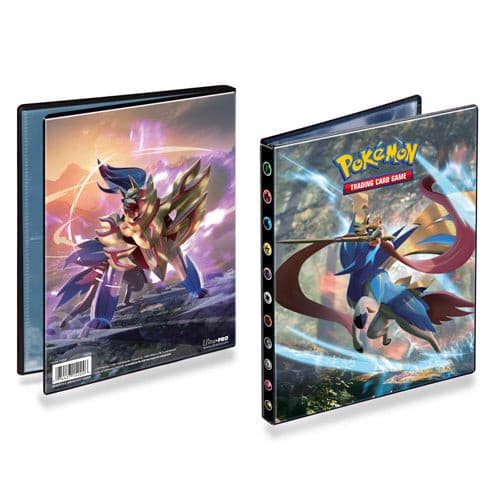 Ultra pro - 4 pocket portfolio - pokemon sword & shield