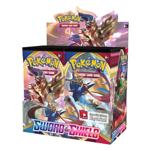 Pokemon Sword & Shield - Booster Box (36 Boosters)