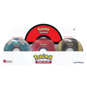 Pokemon - 2020 Poke Ball Tin Display (6 Tins)