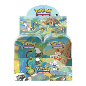 Pokemon - Galar Pals Mini Tin Display (10 Tins)