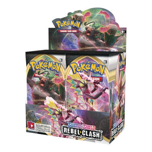 Pokemon - Sword & Shield Rebel Clash - Booster Box (36 boosters)