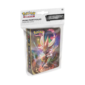 Pokemon - Sword & Shield Rebel Clash - Mini Portfolio met Booster