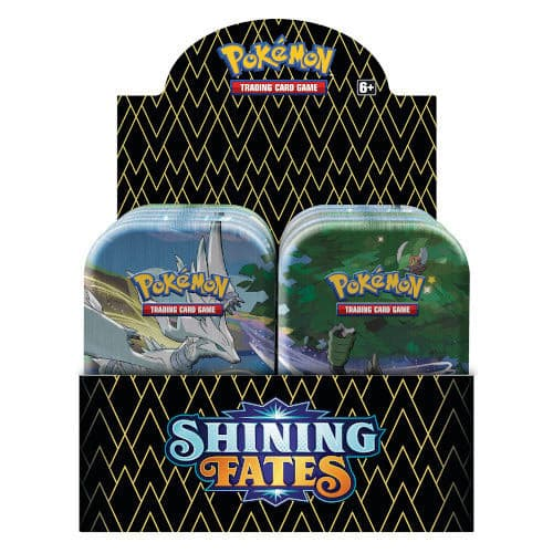 Pokemon - Sword & Shield 4.5 Shining Fates - Mini Tin Display (10 Tins)