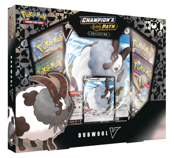 Pokemon Sword & Shield: Champions Path Dubwool V Box