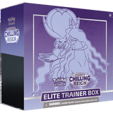 Pokemon: Sword & Shield 6 Chilling Reign - Elite Trainer Box: Shadow Rider Calyrex
