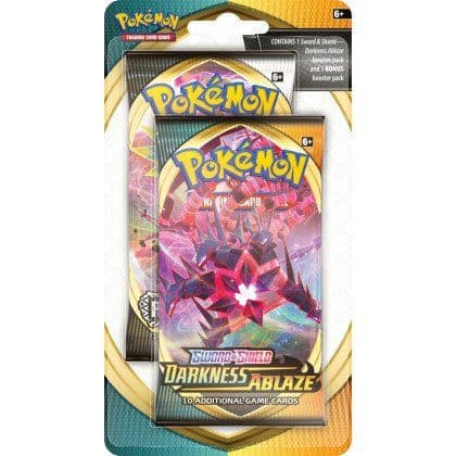 Pokemon: Sword & Shield Darkness Ablaze Celebration Pack