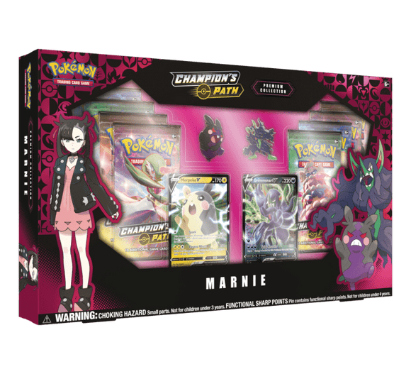 Pokemon Sword & Shield: Champions Path Premium Collection - Marnie