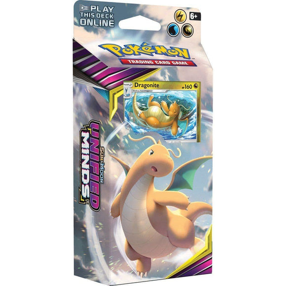 Pokemon: Sun & Moon Unified Minds - Theme Deck Dragonite