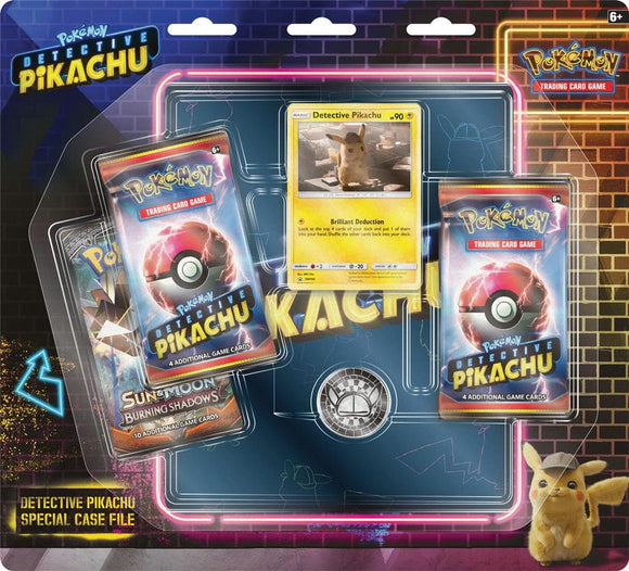 POKEMON TCG DETECTIVE PIKACHU 3BB 4-POCKET BINDER