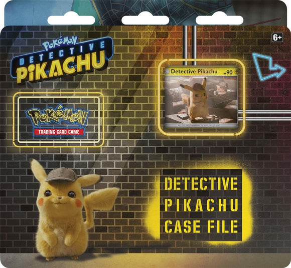 POK TCG DETECTIVE PIKACHU 3 BOOSTER BLISTER