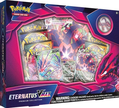 Pokemon Eternatus VMAX Premium Collection Box