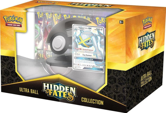 Pokemon - Hidden Fates Pokeball Collection Metagross-GX