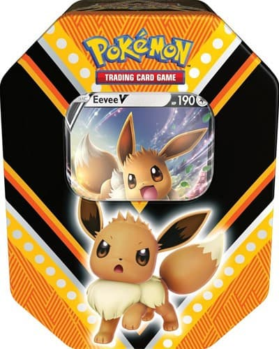Pokemon - V Power Tin Eevee