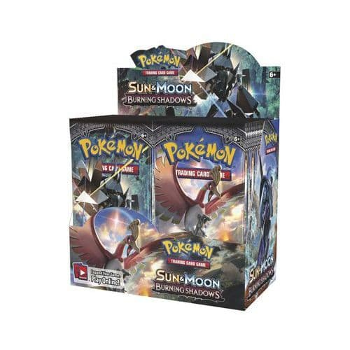Pokemon Sun & Moon Burning Shadows - Booster Box