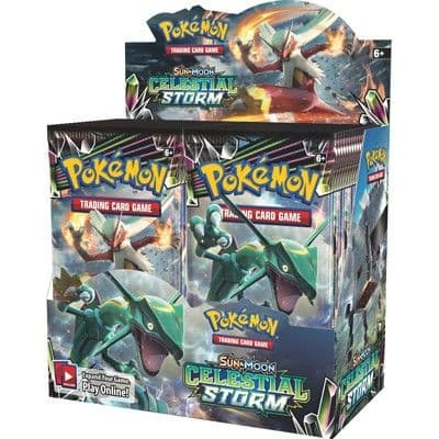 Pokemon Sun & Moon Celestial Storm - Booster Box
