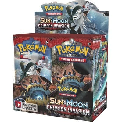 Pokemon Sun & Moon Crimson Invasion - Booster Box (36 boosters)
