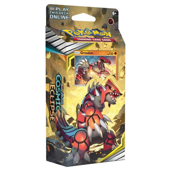 Pokemon: Cosmic Eclipse Theme Deck - Groudon