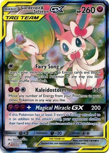 Pokemon SM Unbroken Bonds Gardevoir & Sylveon 205/214