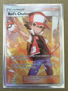 Pokemon Unbroken Bonds Red's Challenge Trainer 213/214