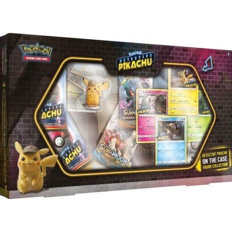 Pokemon Detective Pikachu On The Case Figure Collection