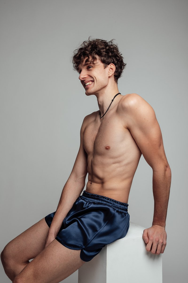 Silk Boxer Shorts For Him - silk&jam