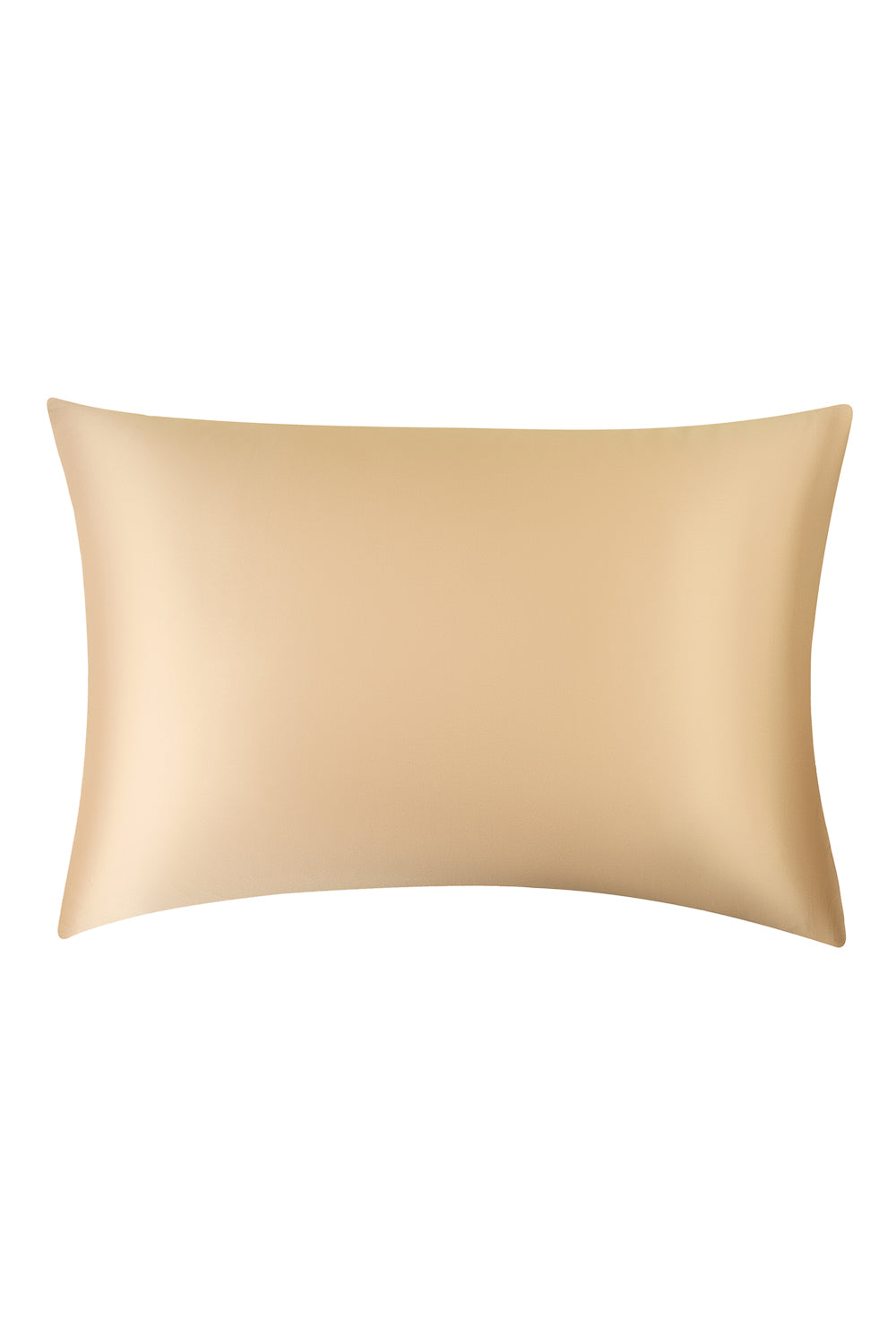Silk Pillow Case in Gold Pearl