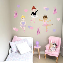 Beautiful Ballerinas Wall Decal