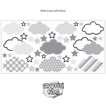 Cloud Wall Decal Yellow