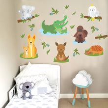Australian animal removable wall decal