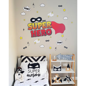 Super Hero Monochrome