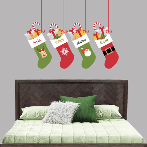 Christmas Stocking Wall Decal