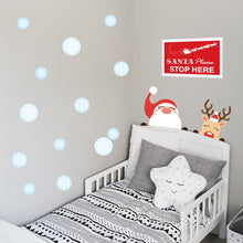 Santa Stop Wall Decal