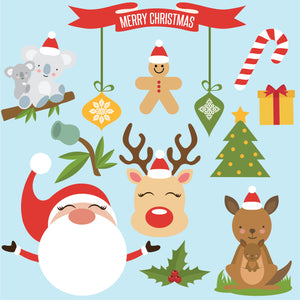 Christmas Festivities Wall Decals