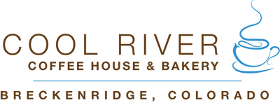 Cool River coffee house logo