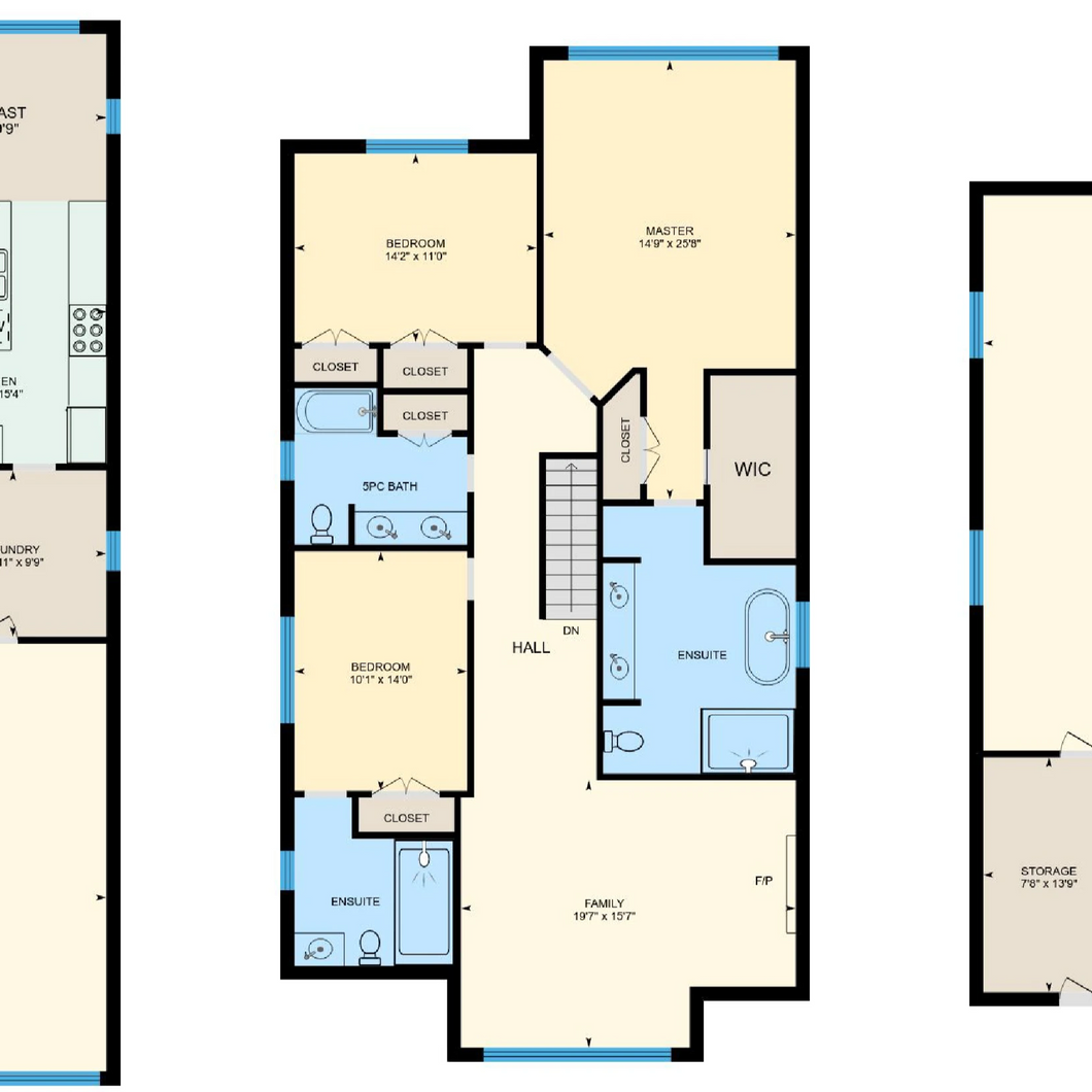 Floor plans and 360 tour add-on