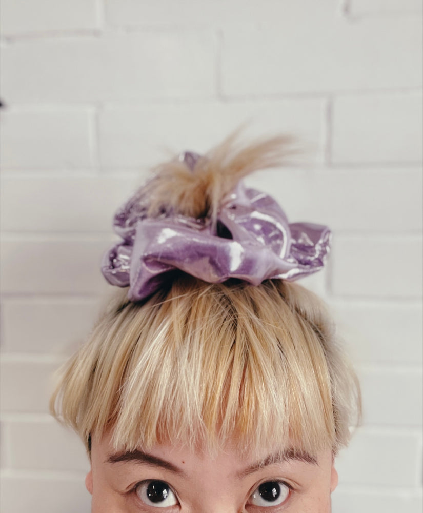 Spring Summer Hello Darling Disco Ball Scrunchies